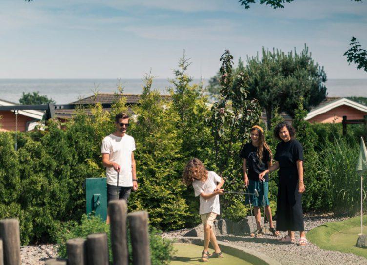 Bornholm minigolf i naturskønne omgivelser