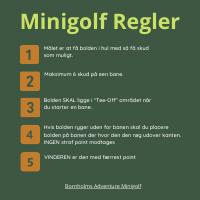 Minigolf spilleregler